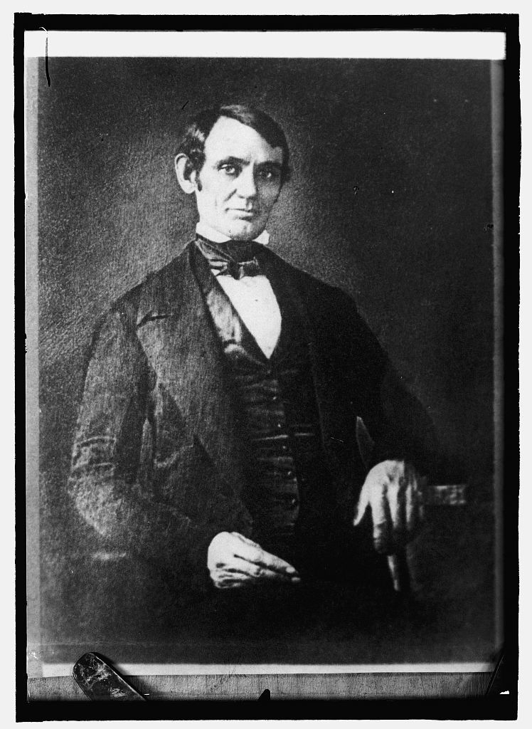 Lincoln as a member of Congress in 1847