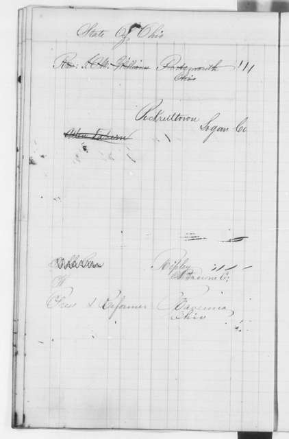 North Star Ledger Book, 1847-1849