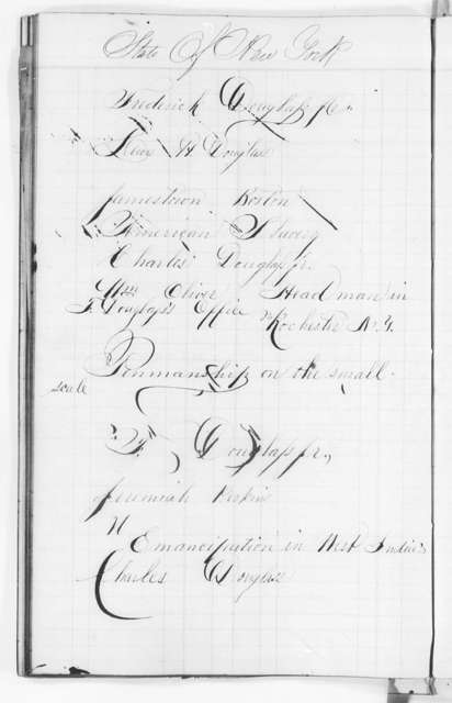 North Star Ledger Book, 1847-1849