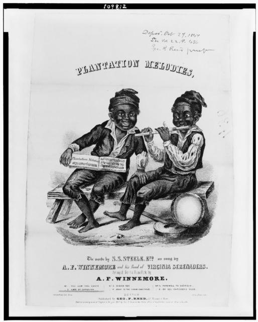 Plantation melodies / J.H. Bufford's lith., Boston.