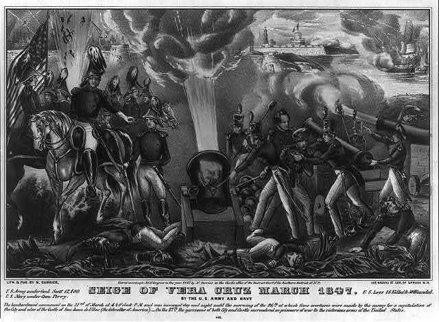 Seige of Vera Cruz March 1847: by the U.S. Army and Navy