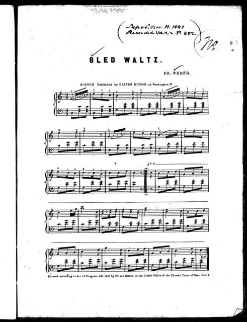Sled waltz