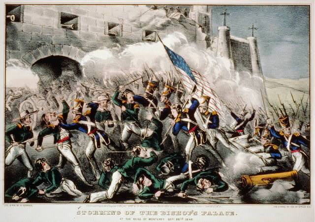 Storming of the Bishop's palace: at the seige of Monterey Sept. 22nd. 1846