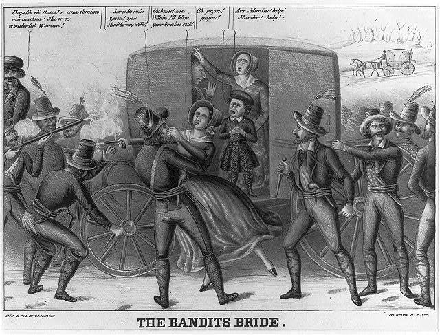 The bandits bride vide Herald May 5th 1847