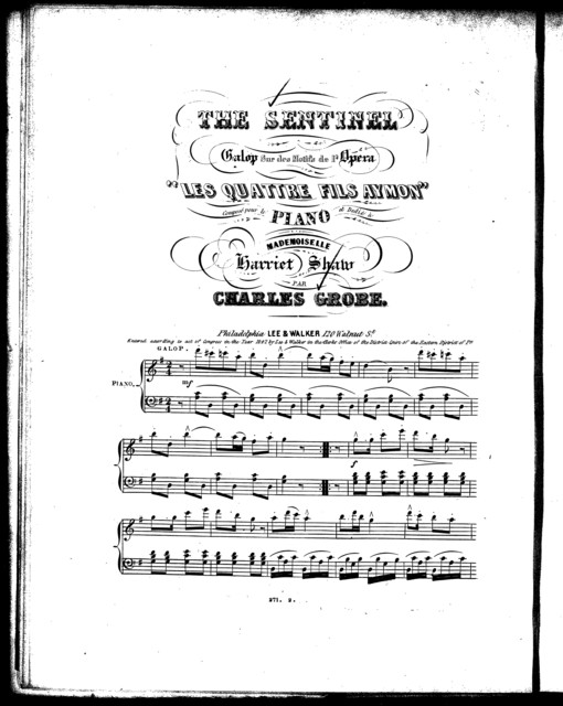 The  sentinel [from] Les quattre fils aymon