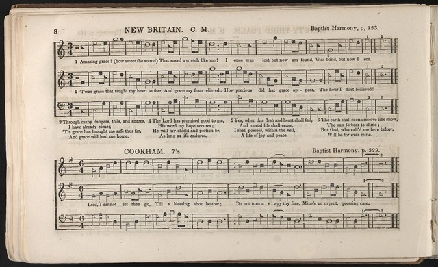 The  Southern harmony, and musical companion: Containing a choice collection of tunes, hymns, psalms, odes, and anthems
