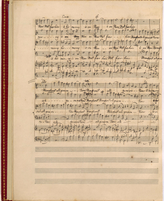 [Three English Church Pieces, for Solo Voices and Chorus, op. 69], Jubilate Deo, Magnificat, Nunc dimittis, [London, 1847]