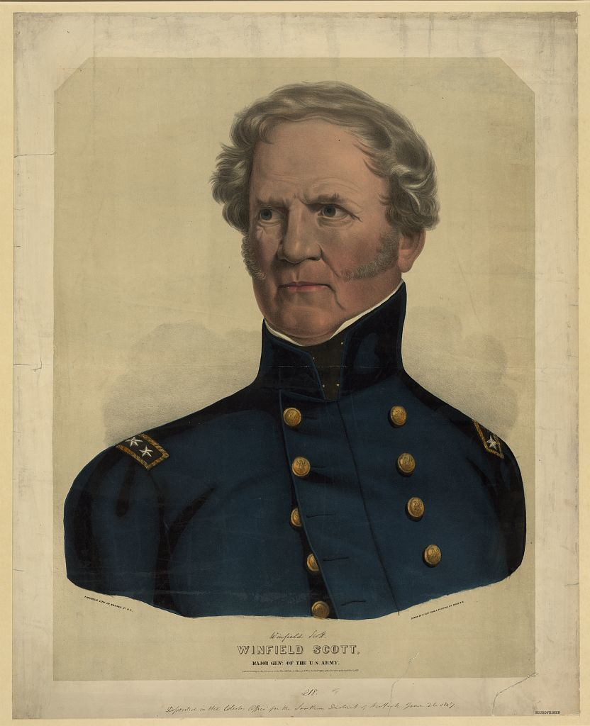 winfield scott According to author john ehle future united states president andrew jackson and winfield scott once agreed to a duel meeting at the appointed place and time both were convinced of the other's courage, so the duel was called off.