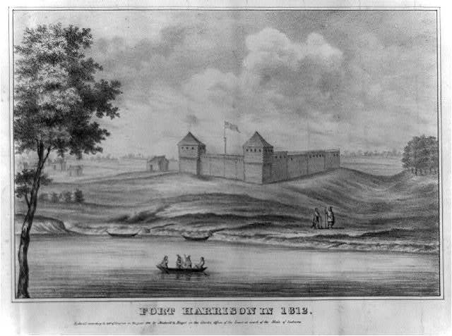 Fort Harrison in 1812