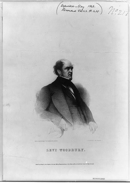 Levi Woodbury / Rowse ; from a daguerreotype by Southworth & Hawes ; J.H. Bufford's Lith., Boston.