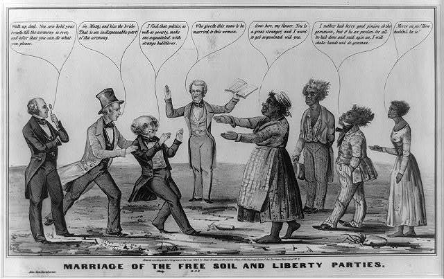 Marriage of the Free Soil and Liberty parties