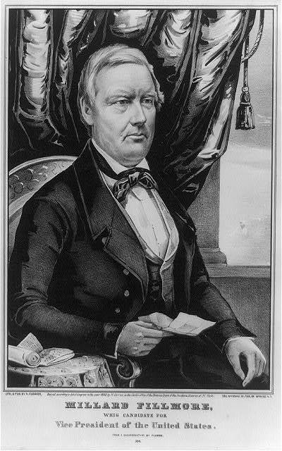 Millard Fillmore: whig candidate for Vice President of the United States