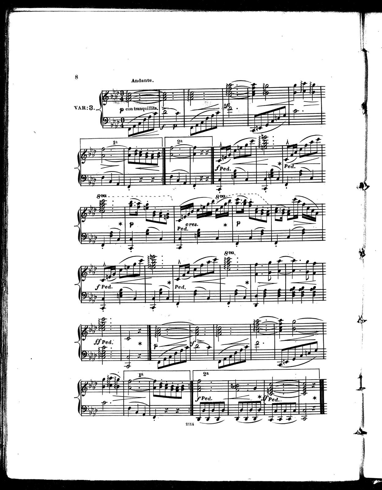 Salut a New York, op. 115