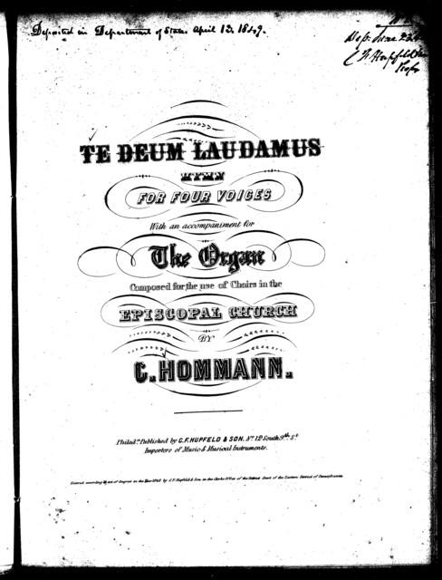 Te Deum laudamus, hymn