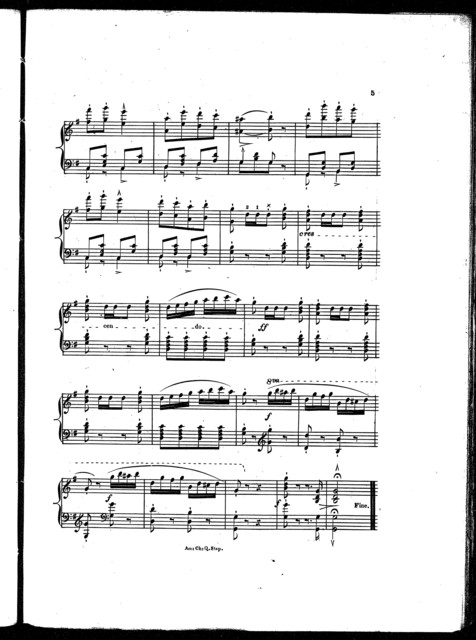 The  American chivalry quick step, op. 175, no. 201