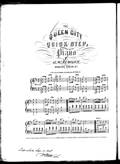 The  Queen City quick step