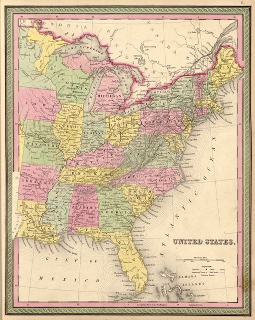 A new universal atlas containing maps of the various empires, kingdoms, states and republics of the world : with a special map of each of the United States, plans of cities &c., comprehended in seventy sheets and forming a series of one hundred and seventeen maps , plans, and sections.