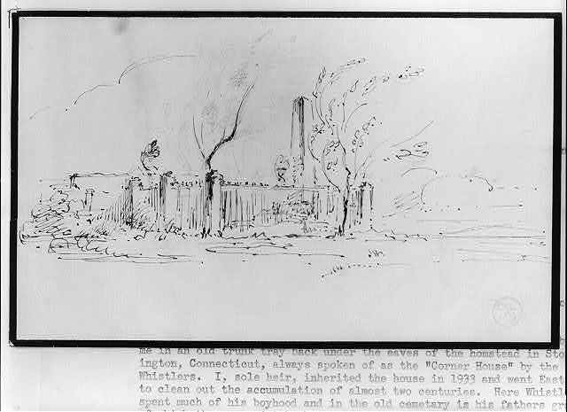 [George Washington Whistler's grave]