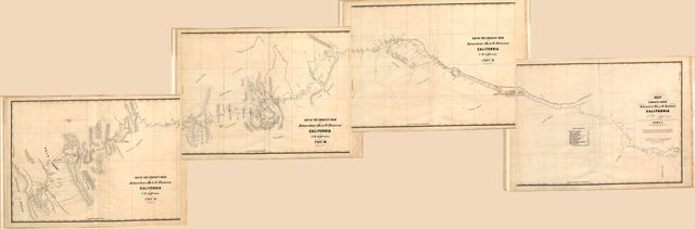 Map of the emigrant road from Independence Mo. to St. Francisco, California /