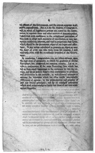 National Intelligencer. ---- Extra. President Taylor's inaugural address, Washington, March 5, 1849. This day at 12 o'clock, General Zachary Taylor, President elect of the United States, delivered to the Senate and members of the House of repres