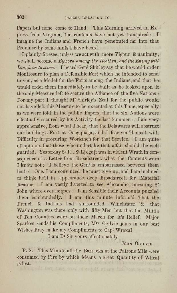 Papers relating principally to the conversion and civilization of the Six nations of Indians, interspersed with letters on other subjects of public interest. 1642-1776