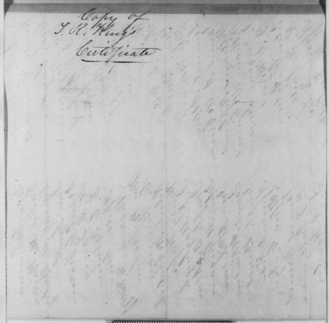 Pekin Illinois Citizens to Abraham Lincoln, Tuesday, May 01, 1849  (Recommendation for Turner R. King for Appointment)