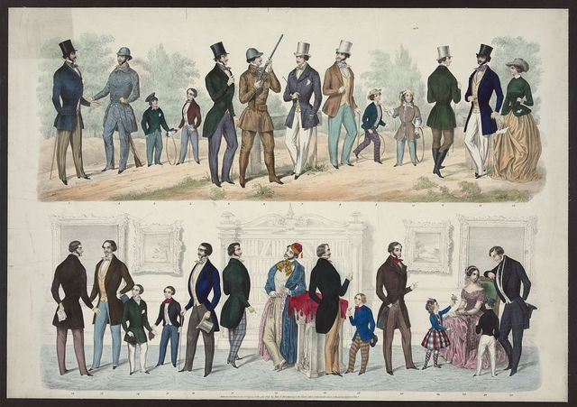 [Shankland's American fashions, 1849]