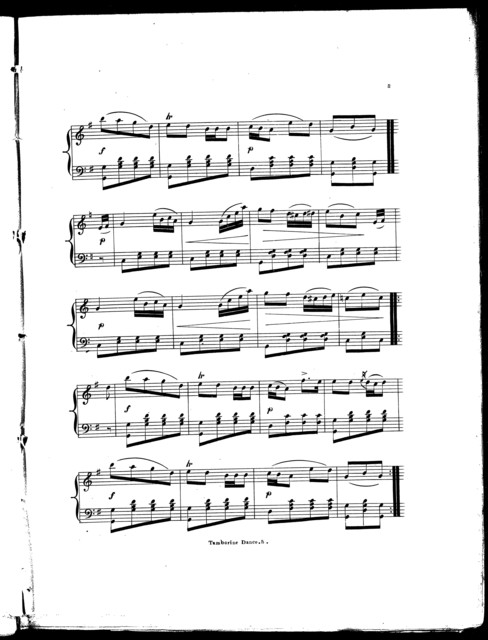 Tamborine dance ; Tamborine polka