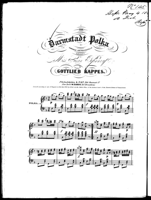 The  Darmstadt polka