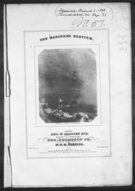 The  mariner's requiem