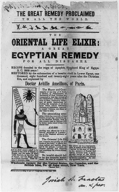 The Oriental Life Elixir: A Great Egyptian Remedy for All Diseases