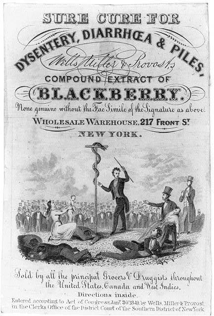 Wells, Miller, and Provost's Compound Extract of Blackberry