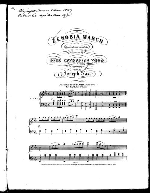 Zenobia march