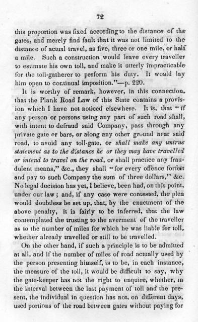 A brief practical treatise on the construction and management of plank roads, by Robert Dale Owen. With an appendix containing the general plank road laws of New York, Kentucky, Indiana and Illinois ... Also, the opinion of Judge Gridley of the New York Supreme court in the case of Benedict vs. Goit.