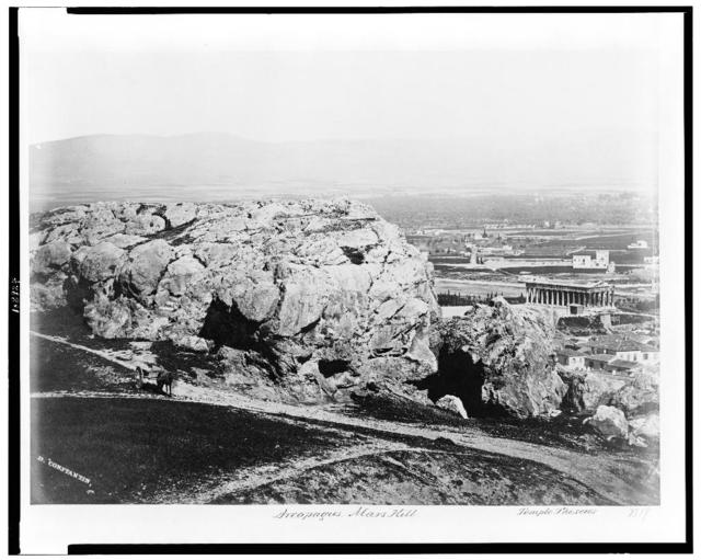 Areopagus. Mars Hill. Temple of Theseus / D. Constantin.