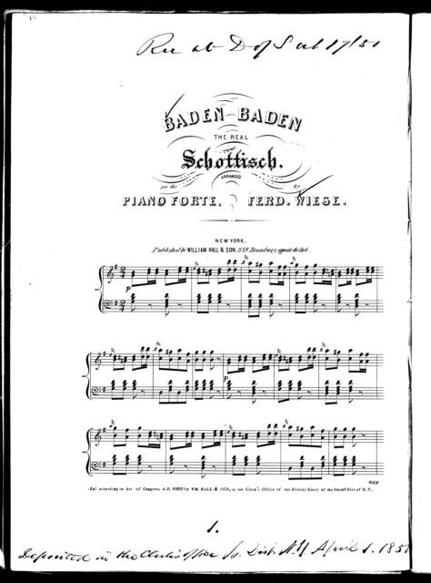 Baden Baden, the real schottisch