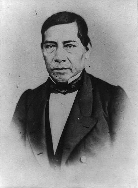 [Benito Juárez, head-and-shoulders portrait, facing front]