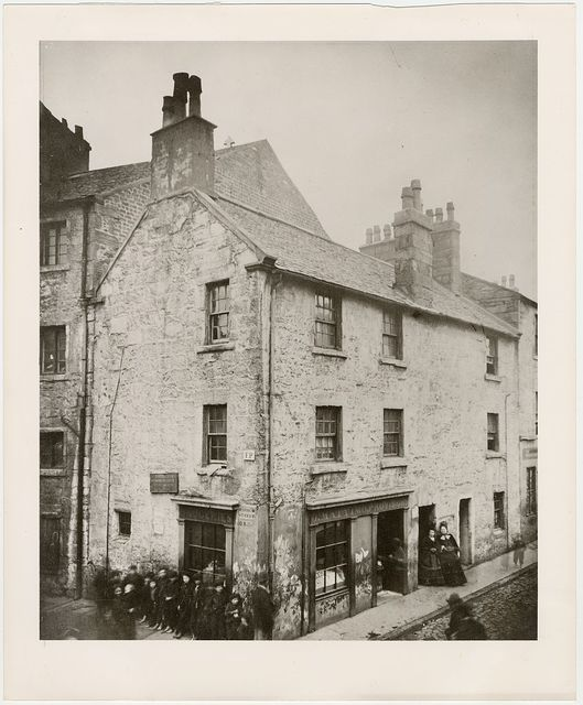 Birthplace of Allan Pinkerton, Muirhead Street and Ruglen Loan, Gorbals, Glasgow, Scotland