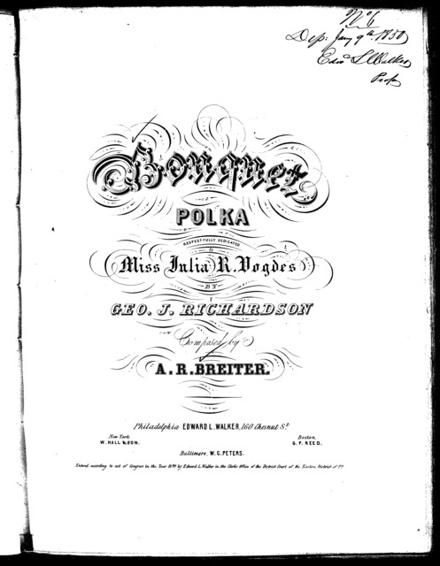 Bouquet polka