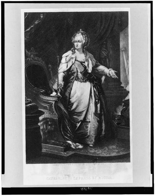 Catherine II Empress of Russia portrait / engraved for the Eclectic by Geo. E. Perine, N.Y.