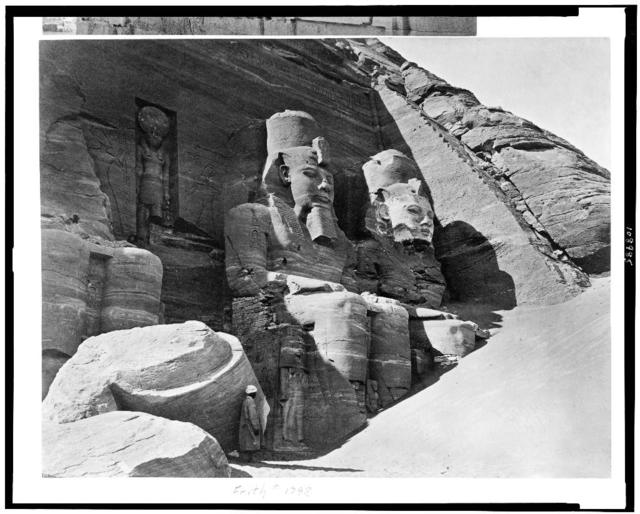 [Colossi of Great Temple, Abū Sunbul, Egypt]