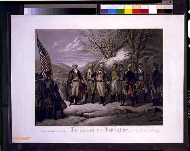 Die Helden der Revolution / gest. von F. Girsch, N.Y.