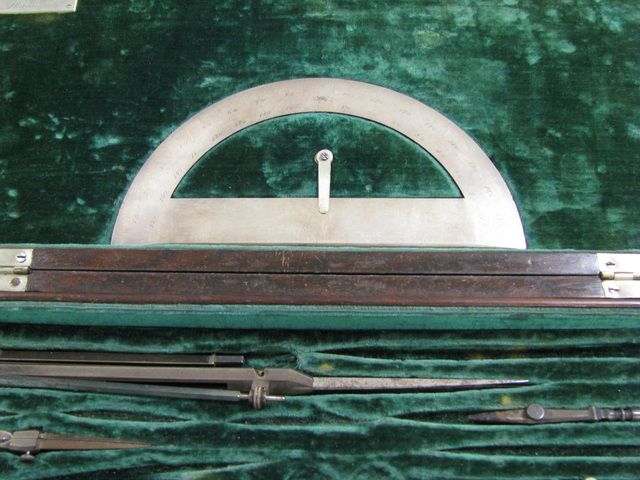 [Drafting tools owned by Thomas Ustick Walter]