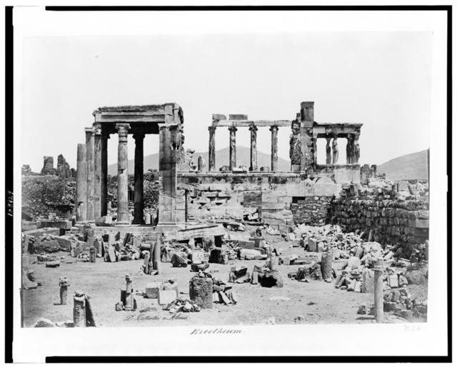 Erectheum / D. Constantin á Athénes.