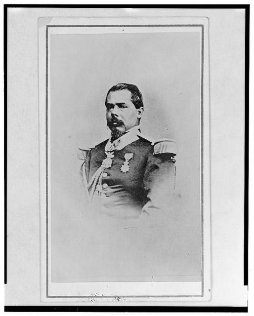 [General Ramón Mendez, head-and-shoulders portrait, facing front]