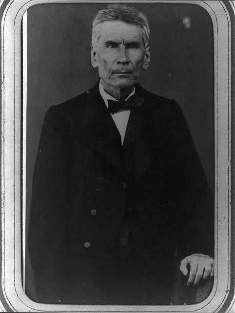 [General Santiago Vidaurri, half-length portrait, standing, facing front]