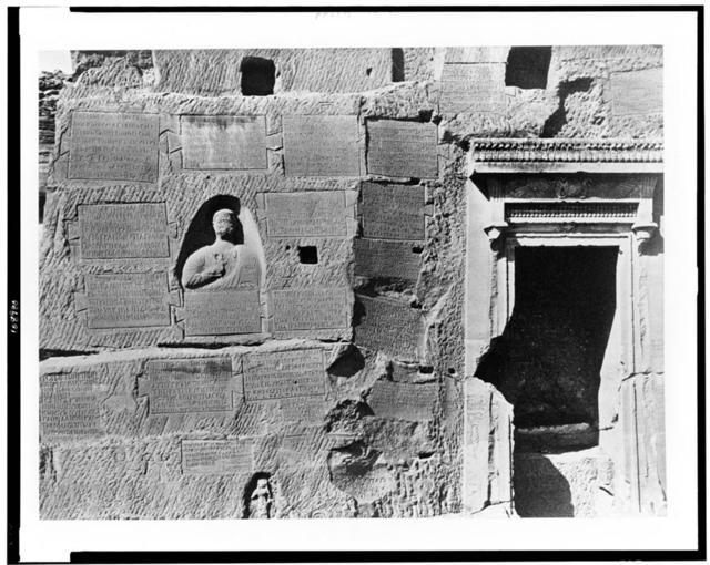 [Greek tablets at Qirṭāsī, Egypt]