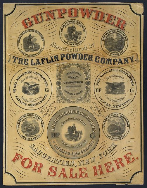 Gunpowder for sale here / Oliver J. Stuart, N.Y.