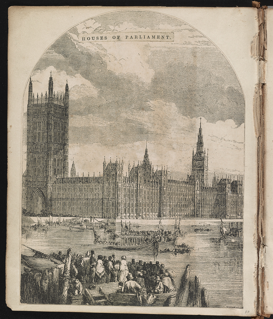 Houses of Parliament / Pearson sc.