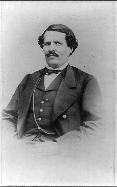 [Jesús González Ortega, half-length portrait, facing front]